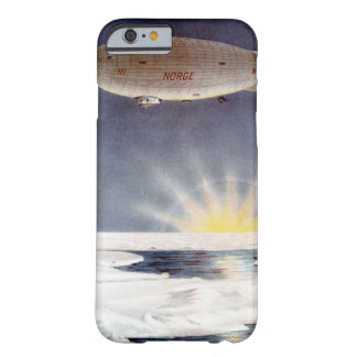 Raold Amundsens airship Norge över nordpolenen Barely There iPhone 6 Fodral