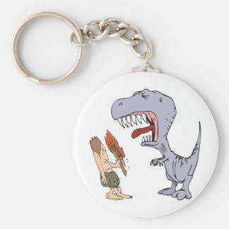 Rapa dinosauren rund nyckelring