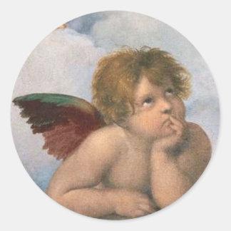 Klistermärken med Änglar
