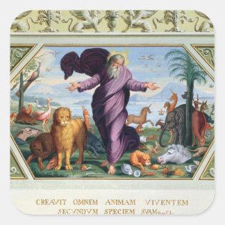 Raphael-bibeln: Thirty-Three platser från Olen Fyrkantigt Klistermärke