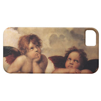Raphael Sistine Cherub iPhone 5 Case-Mate Cases