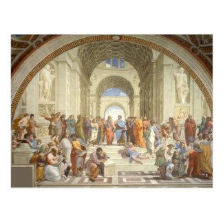 Raphael - Skola av Athens Vykort