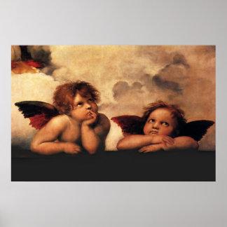 Raphaels änglar poster