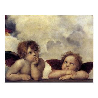 Raphaels änglar vykort