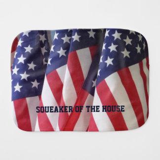 Rapningtrasa, amerikanska flaggan, Squeaker av Bebistrasa
