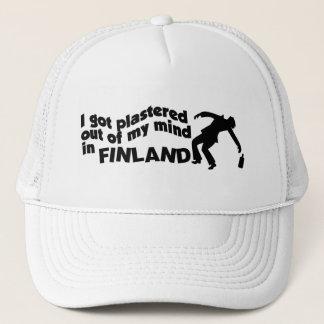 Rappat i den Finland hatten Truckerkeps