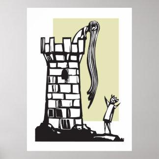 Rapunzels torn posters