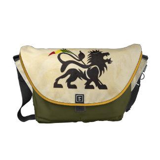 Ras lejona Messenjah hänger lös Kurir Väska