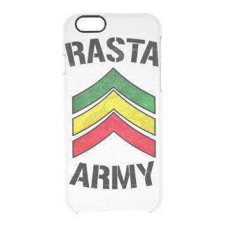 Rasta armé clear iPhone 6/6S skal