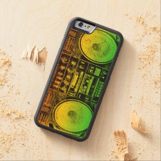 Rasta bergsprängare carved lönn iPhone 6 bumper skal