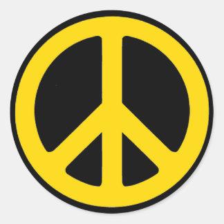 Rasta fred runt klistermärke