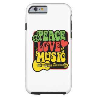 Rasta Fred-Kärlek-Musik Tough iPhone 6 Fodral