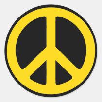 Rasta fred rund klistermärke