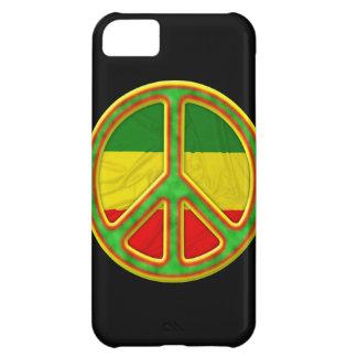 Rasta fredsymbol iPhone 5C fodral