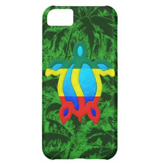 Rasta Honu palmträd iPhone 5C Fodral