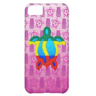 Rasta Honu rosor Tiki iPhone 5C Fodral