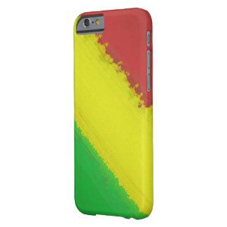 Rasta målar hårt slag barely there iPhone 6 fodral