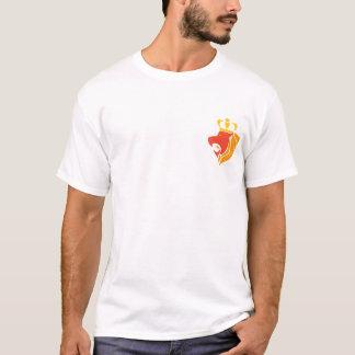Rasta Reggae krönat lejont Tee Shirt
