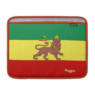 Rasta Reggae som är lejon av Judah Macbook luft MacBook Air Sleeve