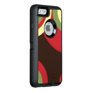 Rasta Retro mönster OtterBox Defender iPhone Skal