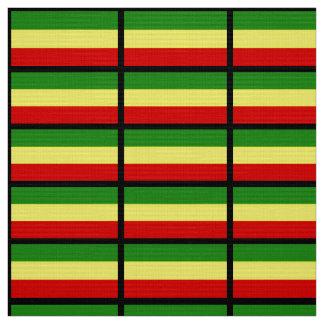 Rastafarian flagga tyg