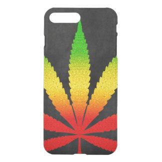 Rastafarian för det ReggaeRasta löv färger kyler iPhone 7 Plus Skal