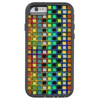 Raster-Belagt med tegel färgrikt Tough Xtreme iPhone 6 Skal
