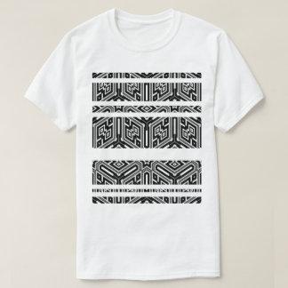 Raster och symmetri t-shirt