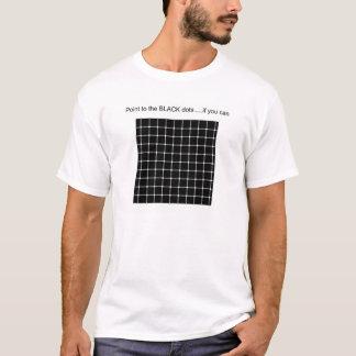 Rastret med fantomen pricker t-shirts