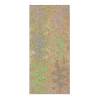 Rått Oakskäll & sällsyntt jordfärgstänk Reklamkort