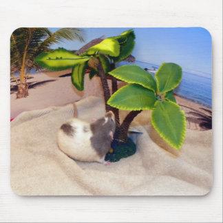 Råtta Mousepad för husdjur för stranddagroligt Musmatta