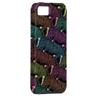 RåttaTesselation mönster - mobilt fodral för iPhon iPhone 5 Case-Mate Skydd