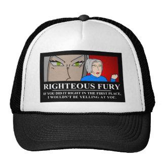 Rättfärdigt raseri Demotivator Baseball Hat