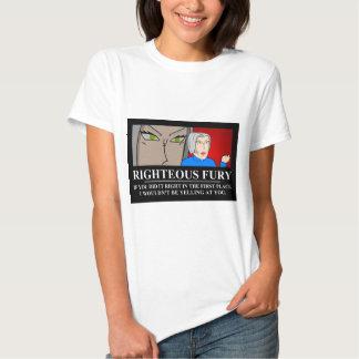 Rättfärdigt raseri Demotivator T-shirt