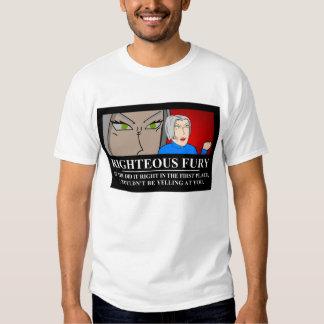 Rättfärdigt raseri Demotivator T Shirts