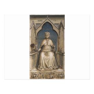 Rättvisa vid Giotto Vykort