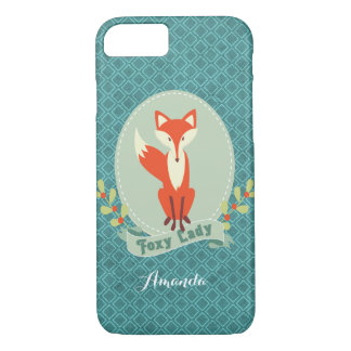 Rävaktigt fodral för iPhone 7 för dam Argyle