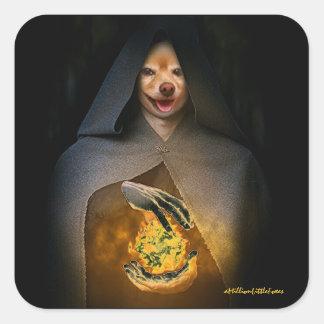 Räven är en annan Ghoul nr. 1.000.000 Fyrkantigt Klistermärke