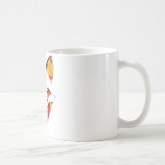 Räven avfyrar kaffemugg