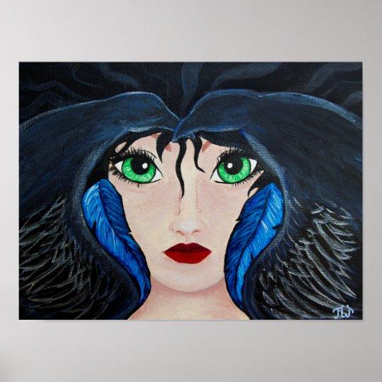 Raven Shaman poster