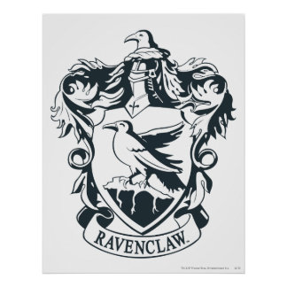 Ravenclaw Crest Posters