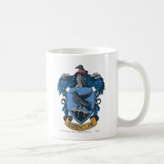 Ravenclaw vapensköld 2 vit mugg