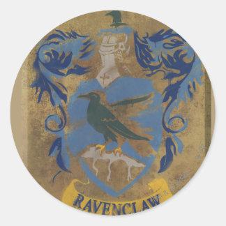 Ravenclaw vapensköld HPE6 Runt Klistermärke
