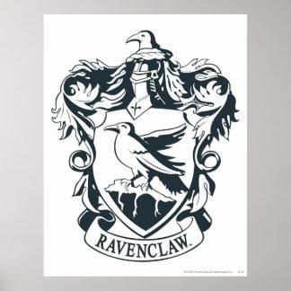 Ravenclaw vapensköld poster
