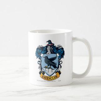 Ravenclaw vapensköld vit mugg