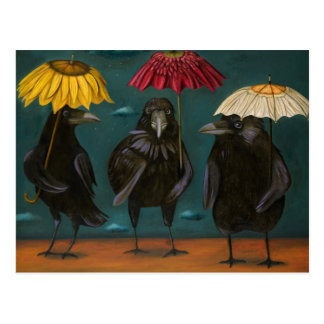 Ravens regnar vykort