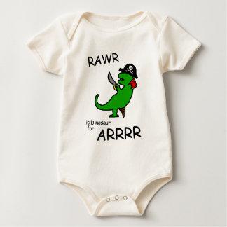 RAWR är dinosauren för ARRR (piratdinosauren) Creeper