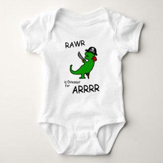RAWR är dinosauren för ARRR (piratdinosauren) Tee Shirt