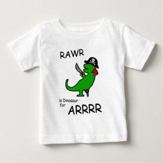RAWR är dinosauren för ARRR (piratdinosauren) Tshirts