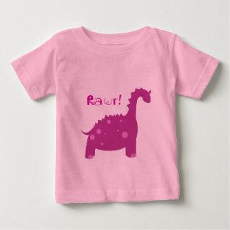 Rawr dinosaur - bebist-skjorta tee shirt